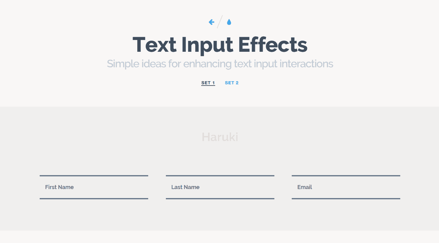 Nice Inspiration for Form Input Styling