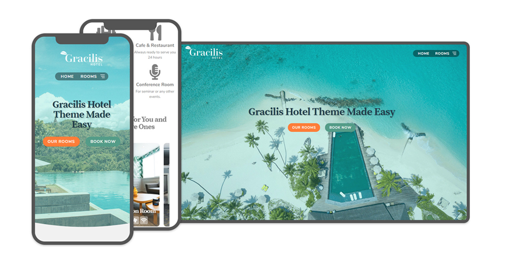 Gracilis Hotel Free WordPress Theme for Hotels