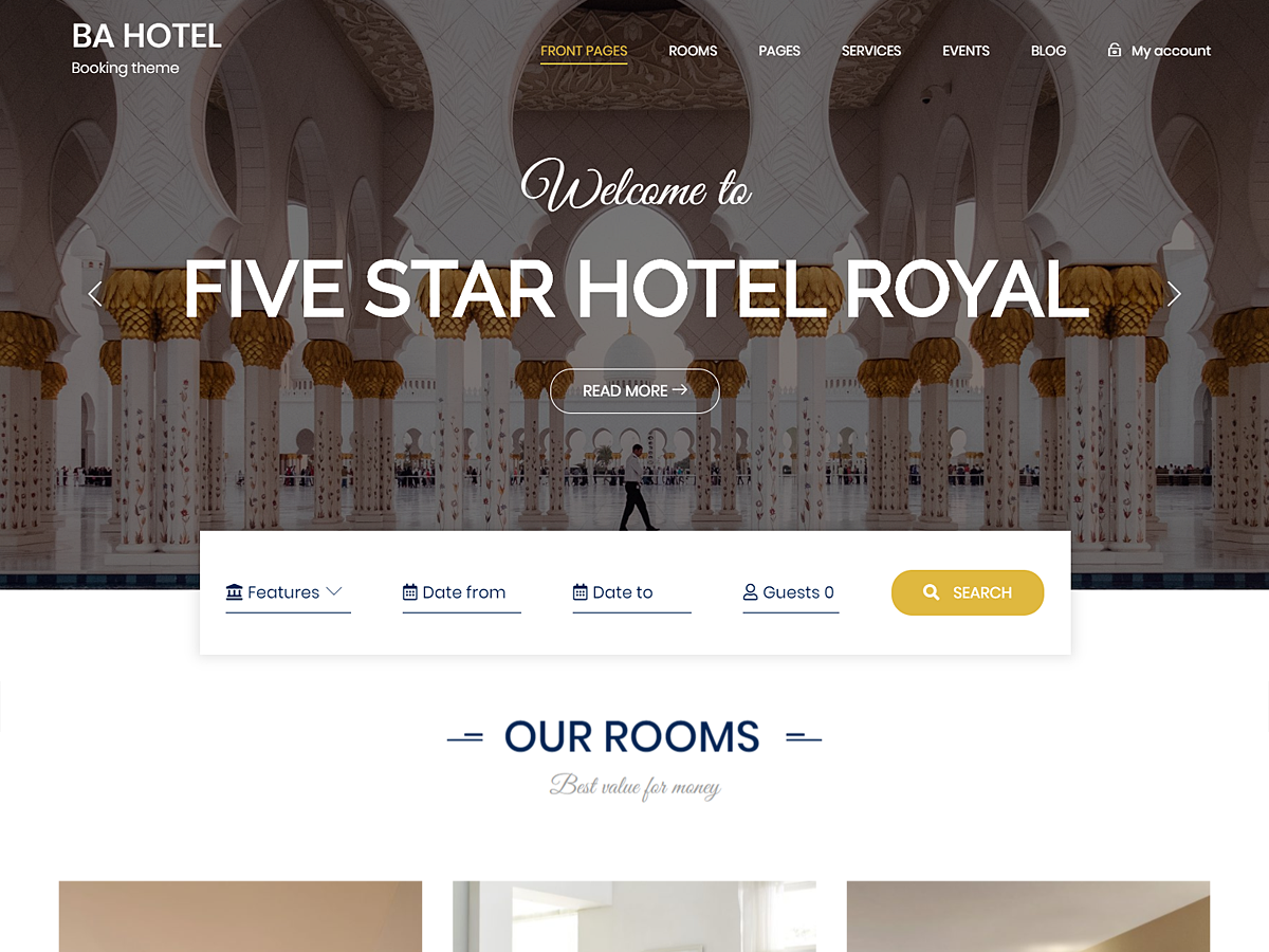 5 Beautiful and Free WordPress Theme for Hotels 2020